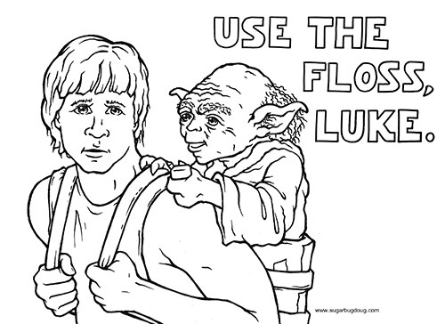 Use the Floss Luke, Dentist Surrey